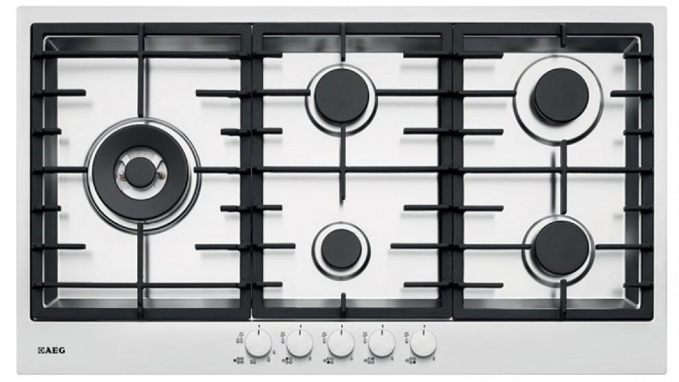 5 burner gas cooktop